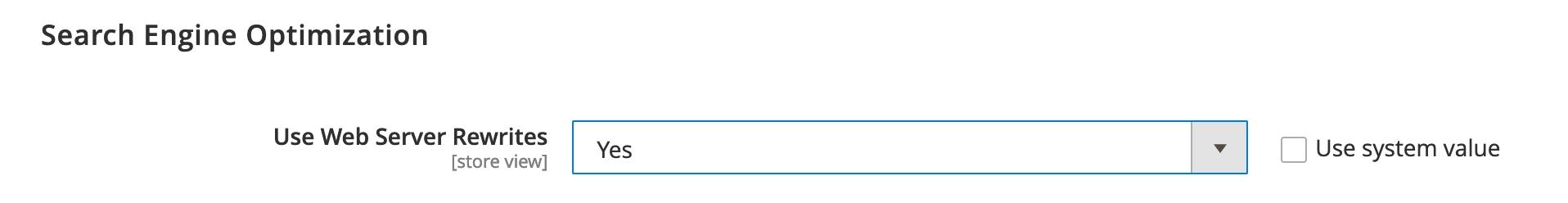 Magento URL Rewrites