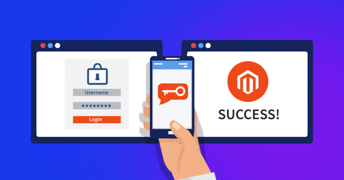 2FA security for Magento 2 admin panel